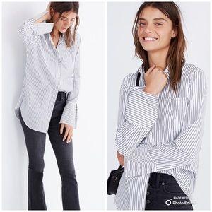 Madewell Bristol Button-Down Shirt in Stripe